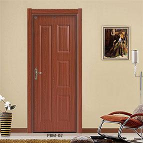 盼盼实木复合免漆PBM-02|室内门