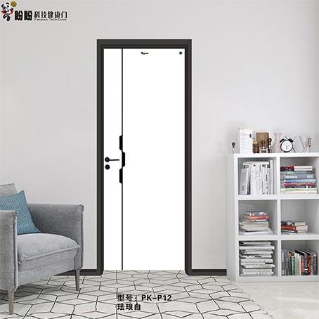盼盼科技健康门丨PK-P12丨珐琅白