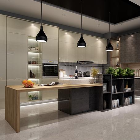 酷奇|厨房系统丨盼盼定制